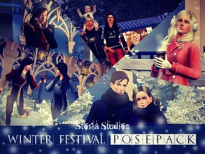 "Sims 3 — Winter Festival by Storia_Studios — After creating the my machinima ""Sims 3 Machinima - Amar Pelos Dois /"