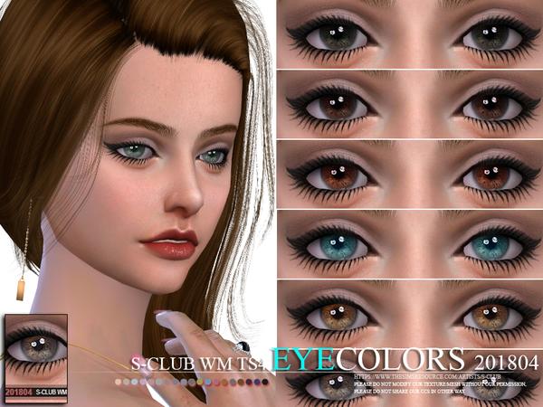 S Club WM ts4 Eyecolors 201804