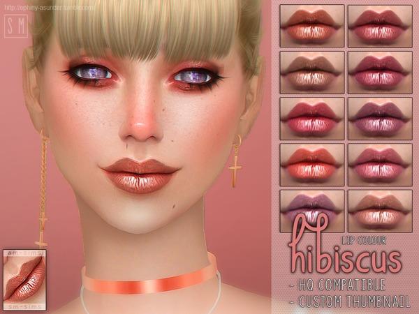 [ Hibiscus ]   Lip Colour