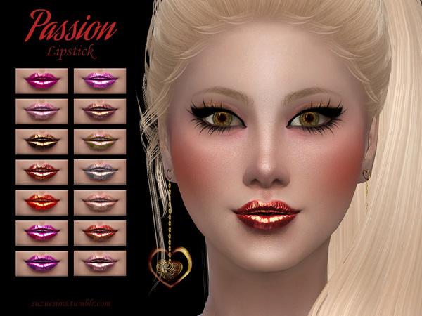 [Suzue] Passion Lipstick N3