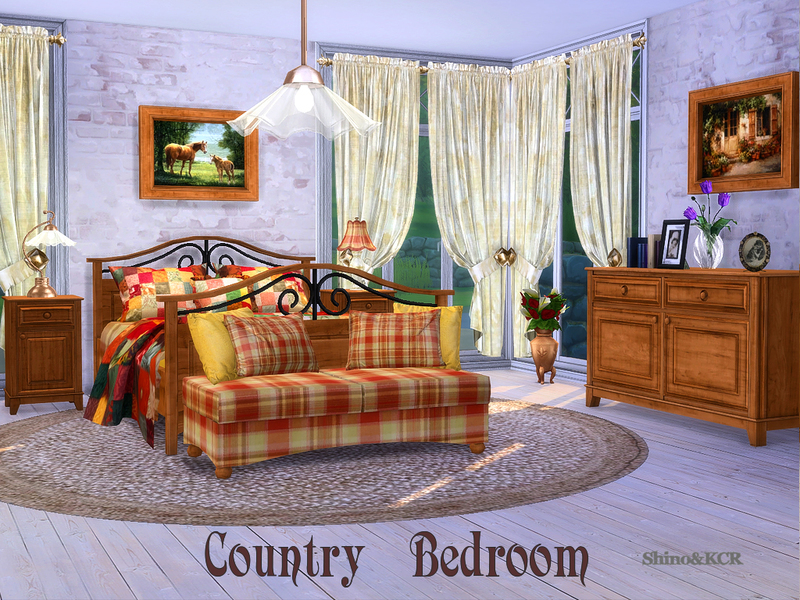 Shinokcr S Bedroom Country