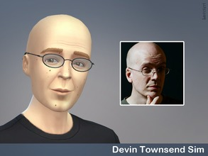 Sims 4 — Devin Townsend by Lavoieri — The one and only Mr. Devin Townsend Traits: creative, music lover, insane.
