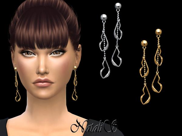 NataliS Your lips drop earrings