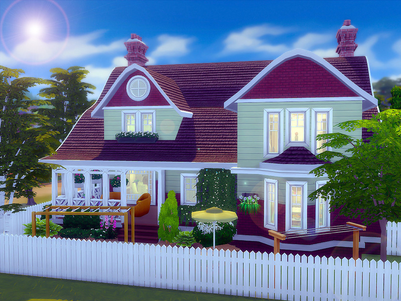 Dogwood Cottage Nocc The Sims 4 Download Simsdom