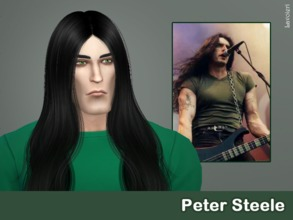 Sims 4 — Peter Steele by Lavoieri — Peter Steele sim from Type O Negative Traits: gloomy, music lover and creative.