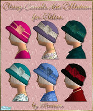 Sims 2 — Classy Casuals Hat Collection by minicart — Classy Casuals Hat Collection for Elders to match the Classy Casuals