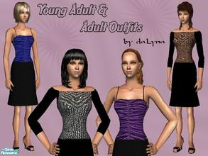 Sims 2 — Outfits Collection No.4 by daLyna — Young Adult & Adult Outfits ..:: Enjoy! ::..