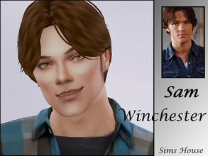 Sims 4 — Sam Winchester by Sims_House — Sam Winchester Get to Work, Get Together, City Living, Outdoor Retreat, Spa Day,