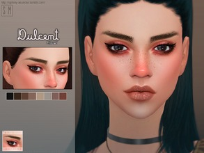 Sims 4 — [ Dulcent ] - Brows by Screaming_Mustard — New eyebrows for Sims. For females , toddler +. With custom thumb