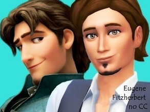Sims 4 — Eugene Fitzherbert no CC by flubs2 — i created the sims 4 version from one of my favorite animated disney