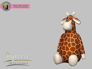 Sims 3 — Aura Giraffe by NynaeveDesign — Aura Kids Decor - Giraffe Located in: Kids - Toys Price: 141 Tiles: 1 x 1