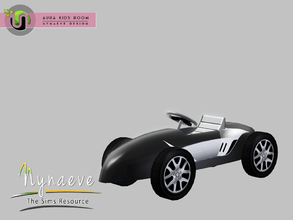 Sims 3 — Aura Race Car by NynaeveDesign — Aura Kids Decor - Race Car Toy Located in: Kids - Toys Price: 141 Tiles: 0.5 x
