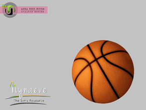Sims 3 — Aura Basketball by NynaeveDesign — Aura Kids Decor - Basketball Located in: Kids - Toys Price: 141 Tiles: 0.5 x