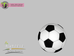 Sims 3 — Aura Soccer Ball by NynaeveDesign — Aura Kids Decor - Soccer Ball Located in: Kids - Toys Price: 141 Tiles: 0.5