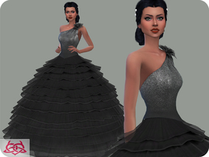 Sims 4 — Wedding Dress 14 RECOLOR 1 (Needs mesh) by Colores_Urbanos — 30 Options Need mesh, look at recommended.