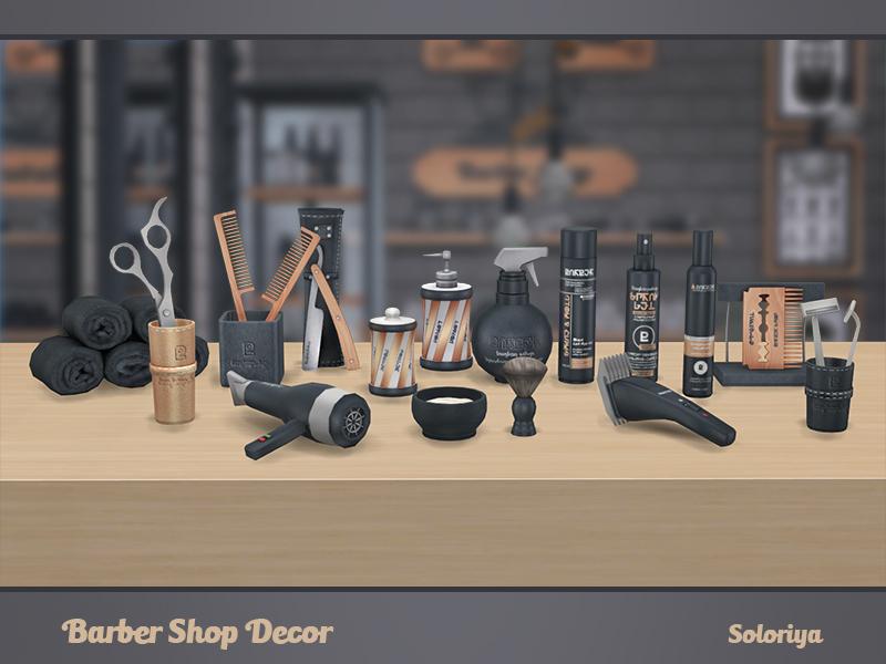 Soloriya S Barber Shop Decor