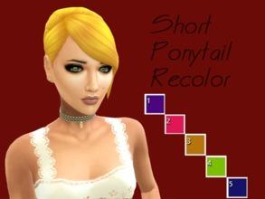 Sims 4 Downloads - 'ponytail'