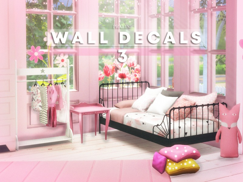 Pralinesims\' Wall Decals 3