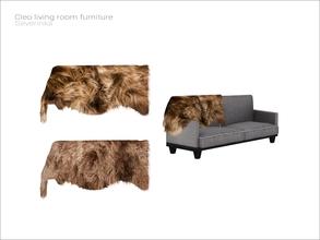 [Cleo Livingroom]   Fur Plaid V01