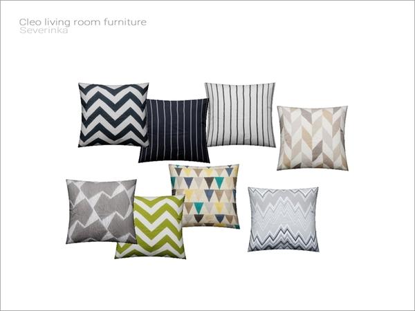 Severinka S Cleo Livingroom Sofa Pillow V02