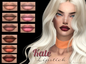 Sims 4 — Kate Lipstick by Baarbiie-GiirL — - this lipstick works with ALL Skins - this set have 16 colors - looks