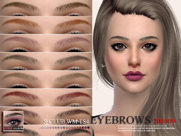 S-Club WM ts4 Eyebrows 201809