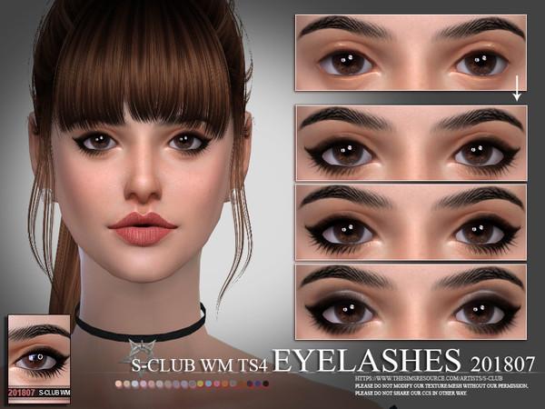 S-Club WM ts4 eyelashes 201807