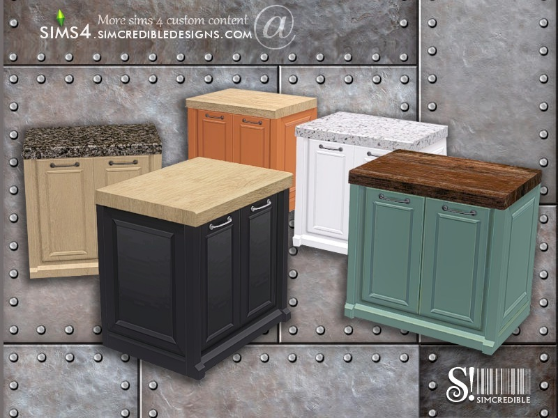 Marvelous Industrial Kitchen Counter