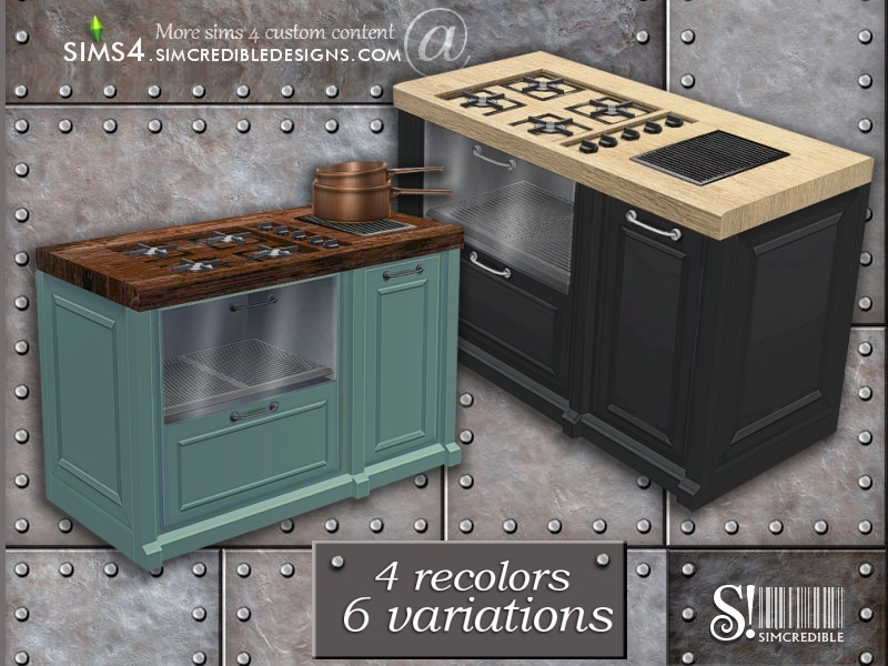 Simcredible S Industrial Kitchen Stove