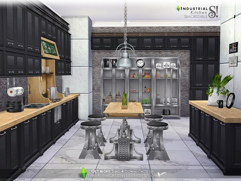 simcredibles industrial kitchen - Industrial Kitchen