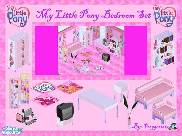 frogger1617\'s My Little Pony Bedroom Set