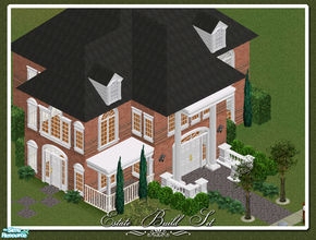 Sims 1 — Estate Build Set by phoenix_phaerie — Includes: Awnings(2), Windows(6), Balustrade, Column(2), Doors(2)