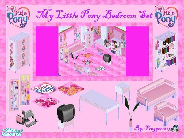 My Little Pony Bedroom Set