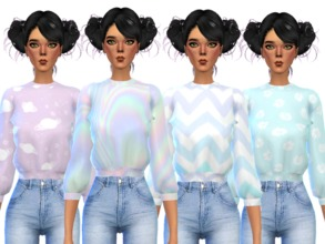 Sims 4 Downloads - 'tumblr clothes'