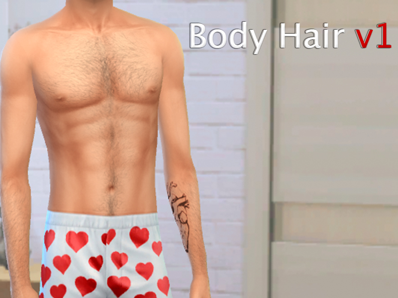 Ssilverr Black Body Hair V1