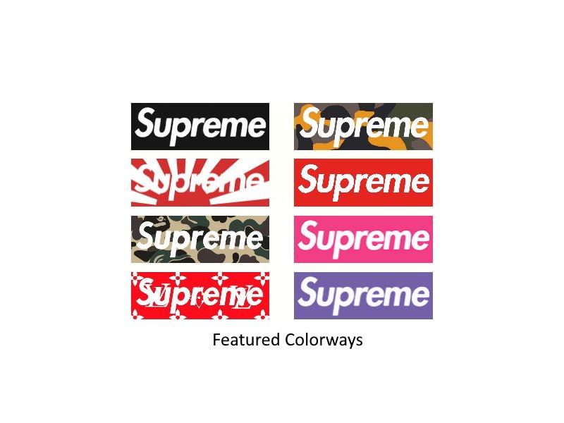 Fatebyblank's Supreme Box Logo Shirts #1