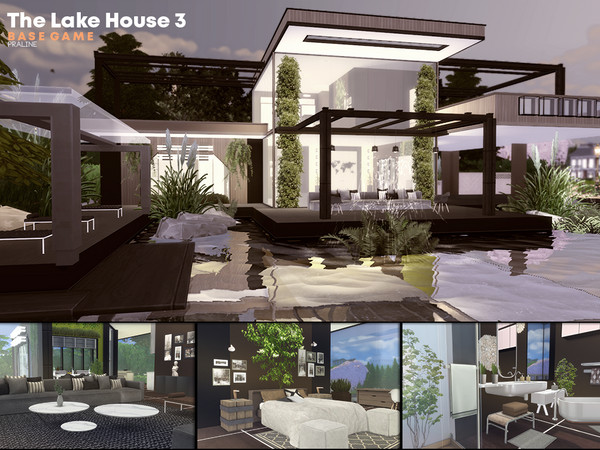 The Lake House 3 by Pralinesims
