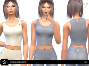 6c9a4807d7 Sims 4 Female Clothing - 'workout'