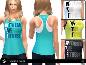 e7aceaf0ae Sims 4 Female Sleepwear - 'workout'
