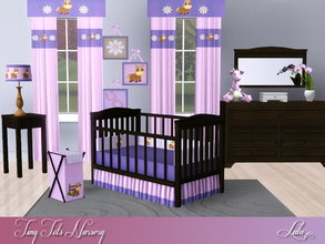 Sims 3 — Tiny Tots Nursery  by Lulu265 — A sims 3 conversion of the Sweet Toddler Bedroom Set. Set includes a crib , not