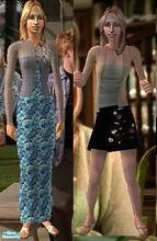 Sims 2 — Buffy Wear Set 2 by Vanilla_Love — Some more clothes for Buffy from Buffy the vampire Slayer