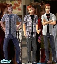 Sims 2 — Oz Wear by Vanilla_Love — Some Oz Clothing from Buffy the Vampire Slayer series. This clothes needs my Oz Wear