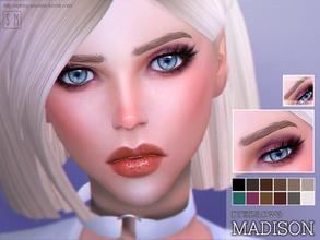 Sims 4 — [ Madison ] - Eyebrow by Screaming_Mustard — New eyebrows for Sims. For females , toddler +. With custom thumb