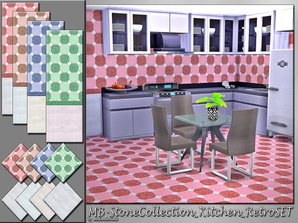 MB-StoneCollection_Kitchen_RetroSET by matomibotaki