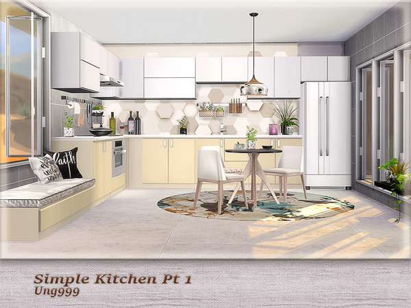 Simple Kitchen Pt.1 by ung999