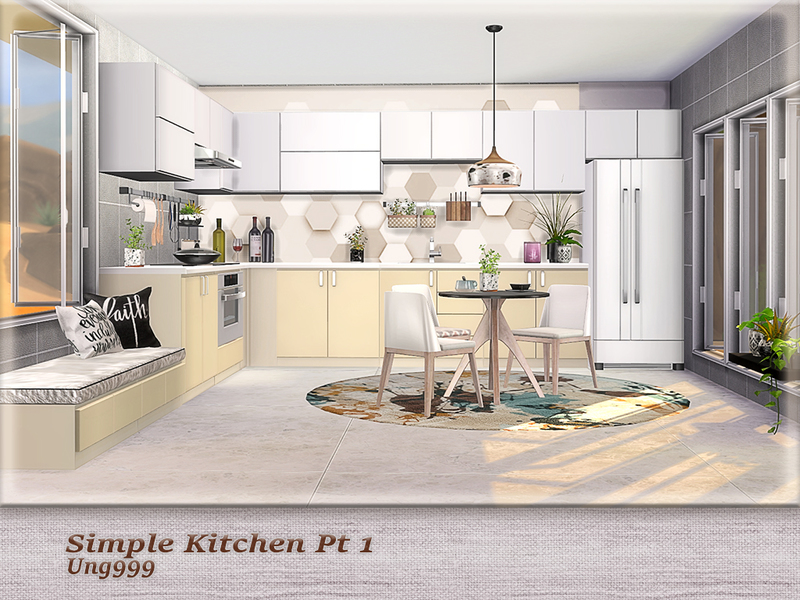 Ung999 S Simple Kitchen Pt 1