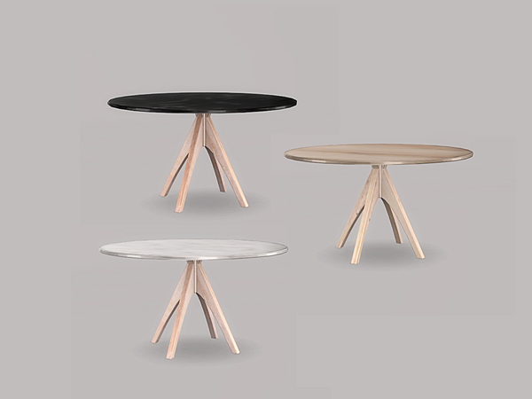 Ung999 S Simple Kitchen Dining Table Round 6 Seater
