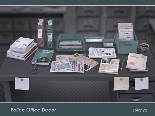 Police Office Decor by soloriya
