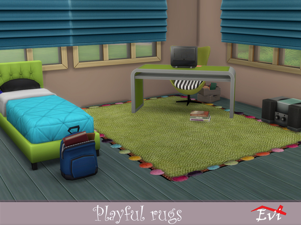 Playful Rugs by evi