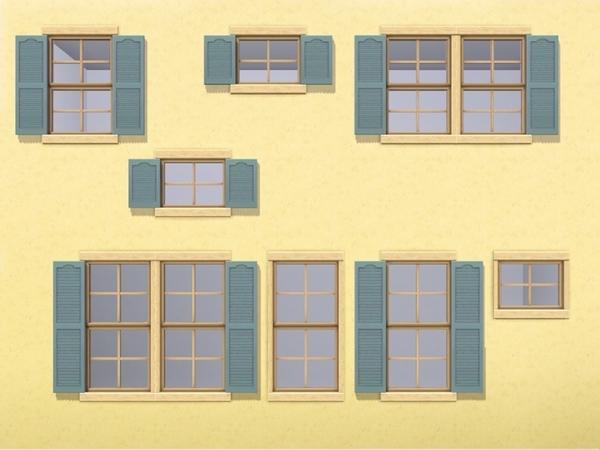 MZ Back to Basix Window Add-ons by missyzim